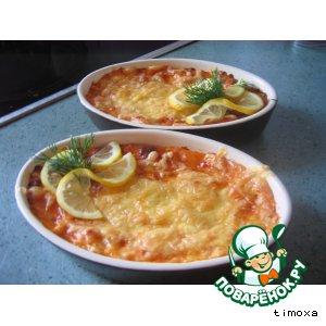 Пирог рыбный по-милански