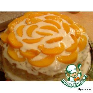 """Торт """"Персиковый рай"""""""