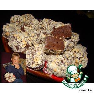 Очень шоколадное печенье