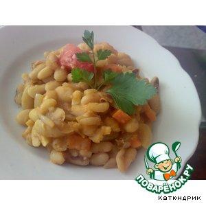 Фасоль по-домашнему в томатном соусе