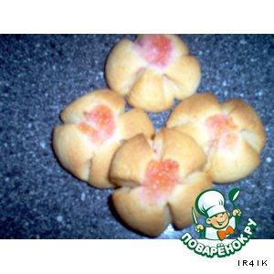 """Печенье """"Желейные маргаритки"""""""