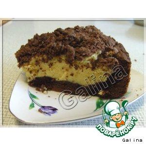Творожный/щипаный пирог