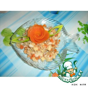 Рыбный салатик