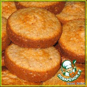 Ореховые кексы