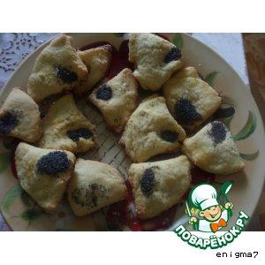 Творожные печенье с манкой