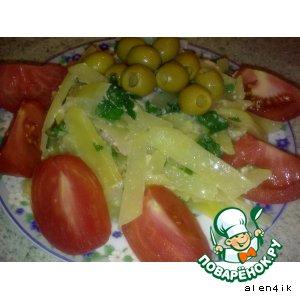 Картофельная паста с беконом