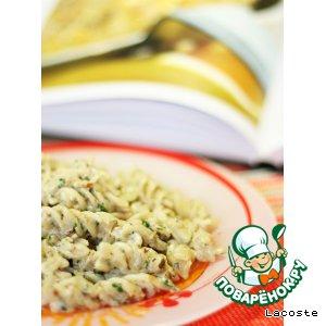 Паста с орехово-сливочным соусом