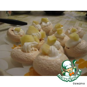 Корзиночки с мороженым