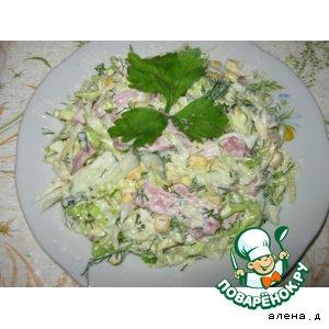 """Капустный салат """"Очень вкусно"""""""