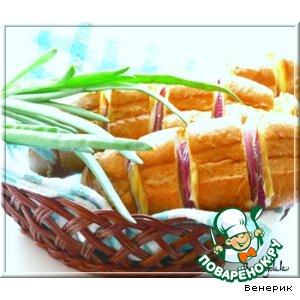 Ленивый сэндвич-багет