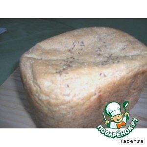 Ржаной хлеб с тмином ( для хлебопечки)