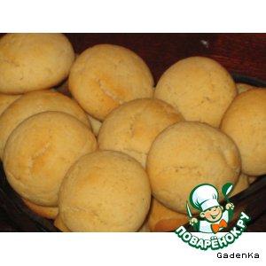 Печенье карамельно-арахисовое