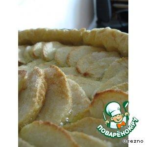 Быстрый пирог с яблочками
