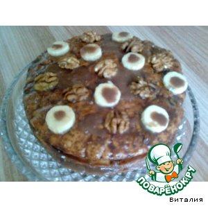 """Торт """"Орехово-фруктовое наслаждение"""""""