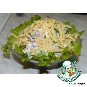 Салат творожный