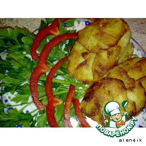 Рыба в картофельной чешуе