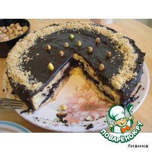 """Черничный пирог """"Исчезающий"""""""