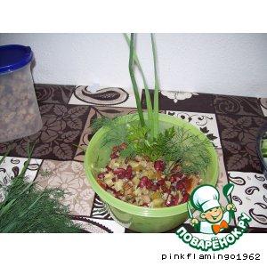 Огуречный салат по-другому