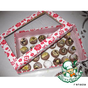 """Печенье """"Шоколадные шарики"""""""