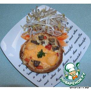Мини-пицца или булочки с начинкой