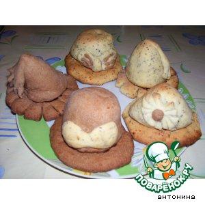"""Печенье с начинкой """"Вкусные шляпки"""""""