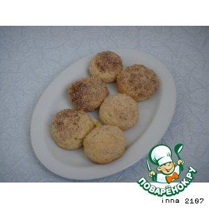 Печенье с имбирем и орехами