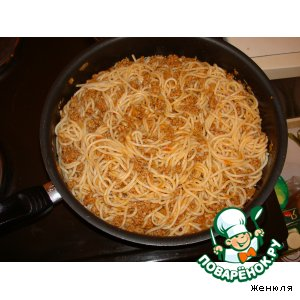 "Спагетти ""Болоньезе"" по-домашнему"