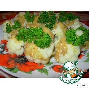 Салат из цветной капусты с маринадом