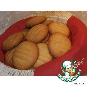 """Сладкое печенье """"Любимое"""" с кедровыми орешками"""