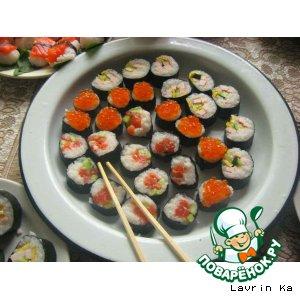 Мои первые суши