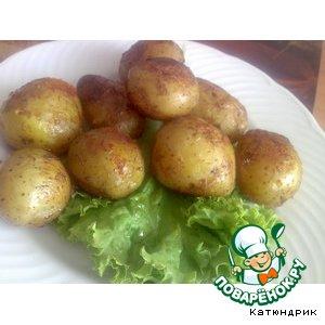 Молодая картошечка- не простая, а золотая
