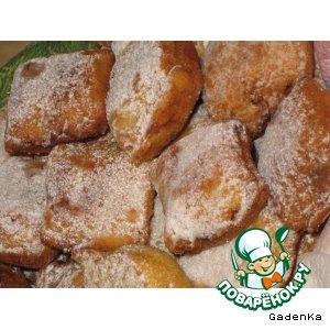 Печенье жареное «Сладкие подушечки»