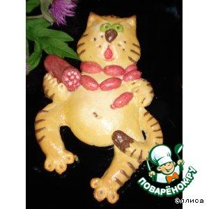 Булочки в форме кота
