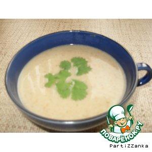 Крем-суп с опятами