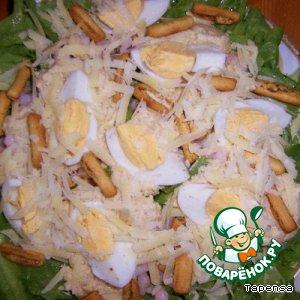 Мой салат для Цезаря