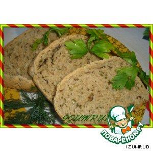 Ржаной хлеб с тмином и луком