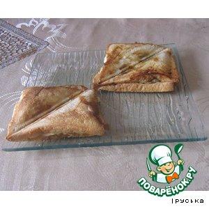 Сэндвичи с шампиньонами