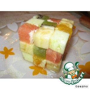 """Фруктовый """"Кубик-рубик"""""""