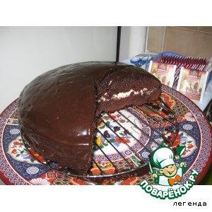 """Торт шоколадный """"Пражский"""""""