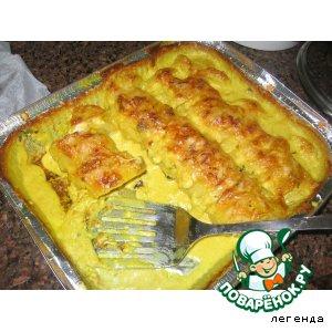 Запеченная картошечка в обалденом соусе