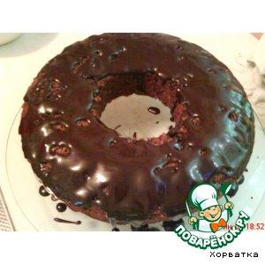 Шоколадный кекс с коньяком