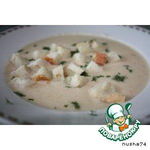 Куриный суп-пюре с овощами