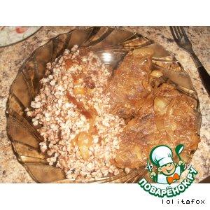Варено–тушеная телятина