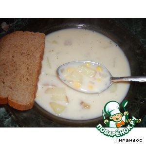 "Сырный суп ""Чаудер"""