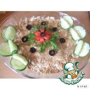 Салат слоeный