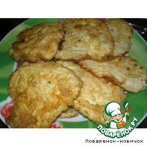 Биточки из куриного филе