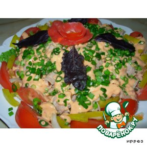 """Салат с тунцом """"Летний"""""""