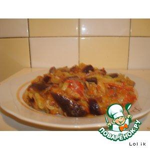 Кадича-овощное рагу по-корейски