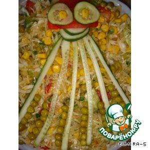 """Закуска-салат """"Осьминог"""""""