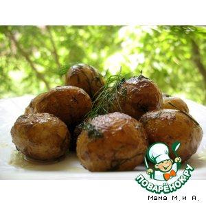 Молодой картофель «в кастрюльке»